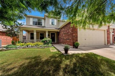 Fort Worth Single Family Home Active Contingent: 1412 Pepperidge Lane