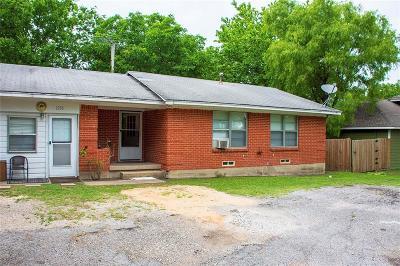 Van Alstyne Single Family Home For Sale: 1250 E Jefferson