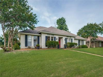 Plano Single Family Home Active Option Contract: 3300 Appalachian Way
