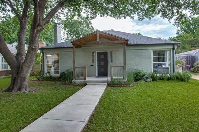 Fort Worth Single Family Home For Sale: 6308 Darwood Avenue