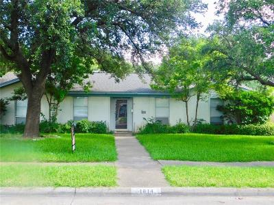 Garland Single Family Home For Sale: 1814 Mission Drive