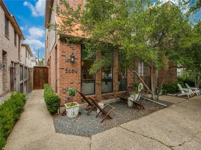 Highland Park, University Park Single Family Home For Sale: 3654 Asbury Street
