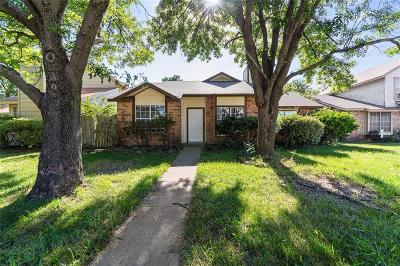 Rowlett Single Family Home Active Option Contract: 3921 Bond Street
