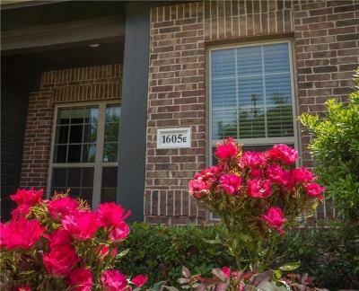 Carrollton Townhouse For Sale: 1605 Black Duck Terrace #E