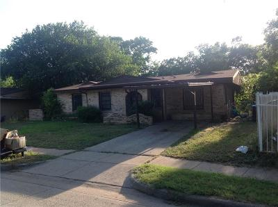 Fort Worth Single Family Home For Sale: 3712 S Hughes Avenue