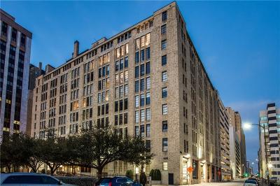Downtown Dallas Condo For Sale: 1122 Jackson Street #204