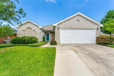 Mansfield Single Family Home Active Option Contract: 531 Hollyberry Drive