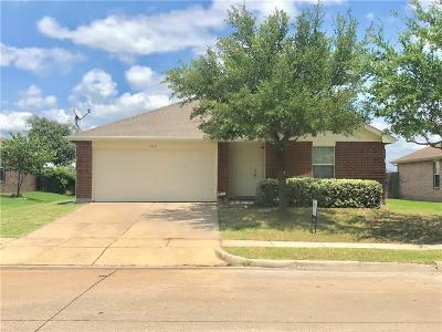 Royse City Single Family Home For Sale: 712 Preston Drive