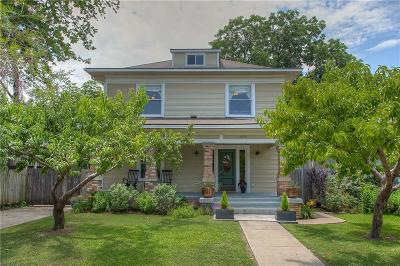 Fort Worth Single Family Home For Sale: 1804 Alston Avenue