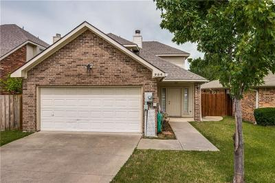 Lewisville Single Family Home For Sale: 954 S Old Orchard Lane