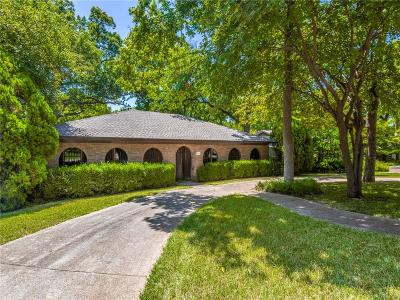 Dallas Single Family Home For Sale: 8254 San Cristobal Drive