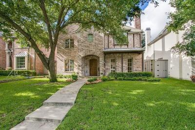 Dallas County Single Family Home For Sale: 4409 Caruth Boulevard