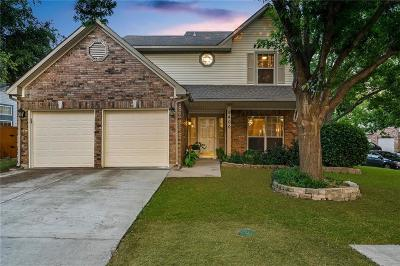 Irving Single Family Home Active Option Contract: 9400 Ruidosa Trail