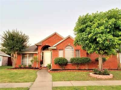 Garland Single Family Home For Sale: 2118 Valley Creek Drive