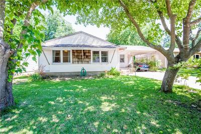 Waxahachie Single Family Home Active Option Contract: 212 Cumberland Road