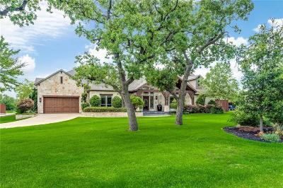 Southlake Single Family Home Active Option Contract: 587 E Dove Road