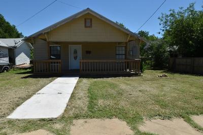 Brown County Single Family Home Active Option Contract: 1808 8 1/2 Street