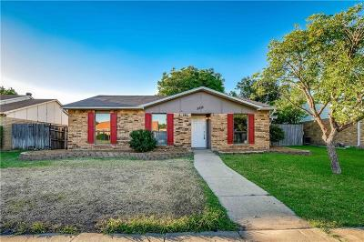 The Colony Single Family Home For Sale: 5616 Terry Street