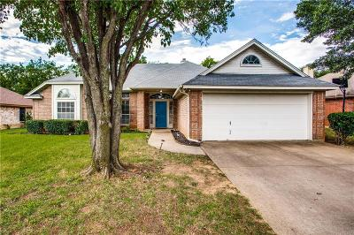 North Richland Hills Single Family Home Active Option Contract: 6508 Towne Park Drive