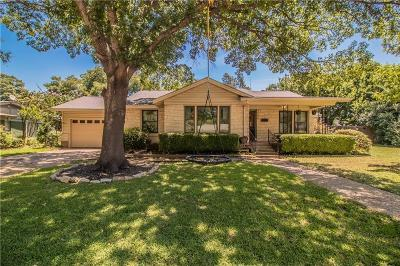 Fort Worth Single Family Home For Sale: 4509 Norwich Drive