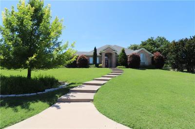 Parker County Single Family Home Active Option Contract: 3509 Cliff View Loop