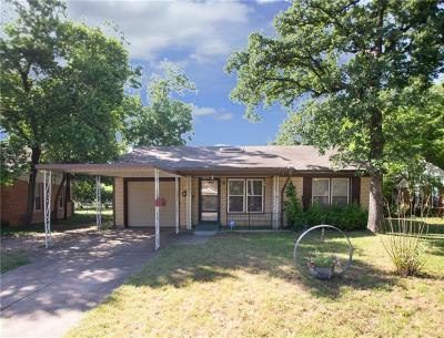 River Oaks Single Family Home For Sale: 5529 Gilbow Avenue