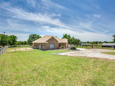 Denton County Single Family Home For Sale: 2209 Strader Road