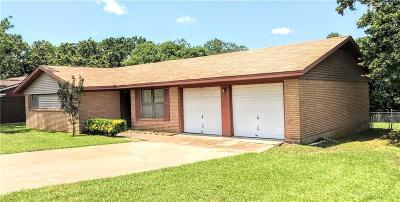Mineral Wells TX Single Family Home For Sale: $128,000