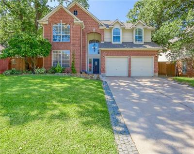 Grapevine Single Family Home For Sale: 1815 Rolling Ridge Drive