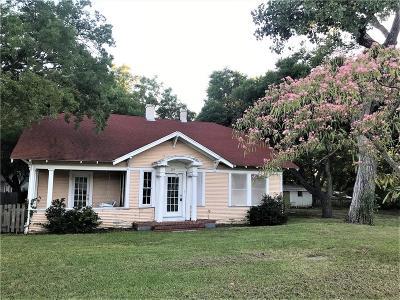 Forney Single Family Home Active Option Contract: 303 W Trinity Street
