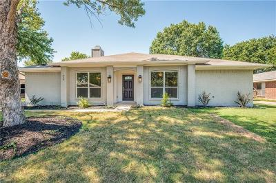 Coppell Single Family Home For Sale: 416 Cozby Avenue