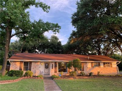 Farmers Branch Single Family Home Active Option Contract: 3406 Mapledale Drive