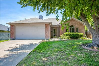 Mansfield TX Single Family Home For Sale: $187,700