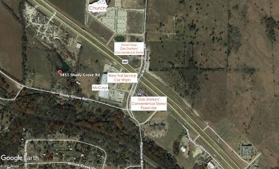 Midlothian Commercial Lots & Land For Sale: 3851 Shady Grove Road