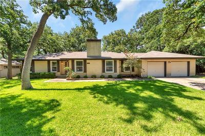 Denton Single Family Home For Sale: 1518 Greenwood Drive