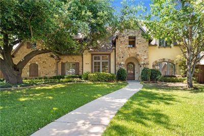 Dallas TX Single Family Home For Sale: $1,460,000