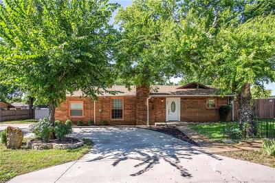 Lake Dallas Single Family Home Active Option Contract: 602 Galbraith Street
