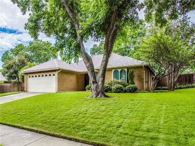 Benbrook Single Family Home Active Option Contract: 140 Amory Drive