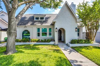 Fort Worth Single Family Home For Sale: 4725 Washburn Avenue