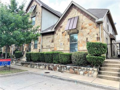 Mckinney Townhouse For Sale: 8700 Paradise Drive