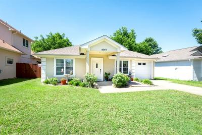 The Colony Single Family Home Active Option Contract: 4549 W Lake Highlands Drive