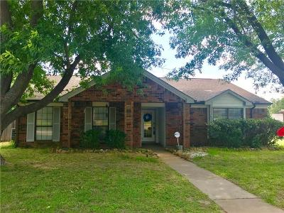 Coppell Single Family Home Active Option Contract: 258 Barclay Avenue