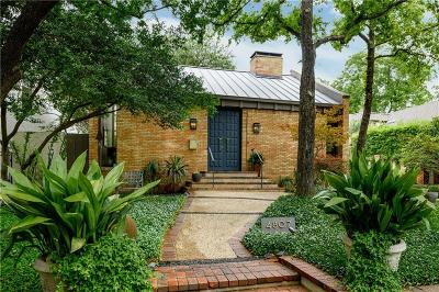 Highland Park Single Family Home For Sale: 4807 Abbott Avenue