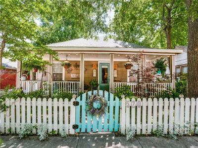 Mckinney Single Family Home For Sale: 520 N Kentucky Street