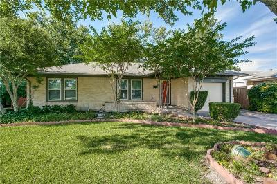 Richardson Single Family Home Active Option Contract: 441 Rustic Circle