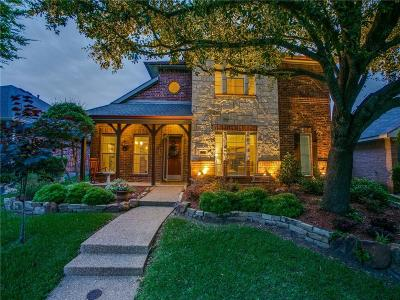Allen Single Family Home Active Option Contract: 1607 Woodstream Lane