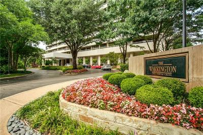 Dallas County Condo For Sale: 3831 Turtle Creek Boulevard #2H