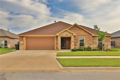Abilene Single Family Home Active Option Contract: 326 Whiterock Drive