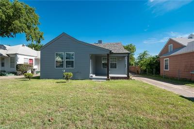 Dallas Single Family Home For Sale: 1203 Hendricks Avenue