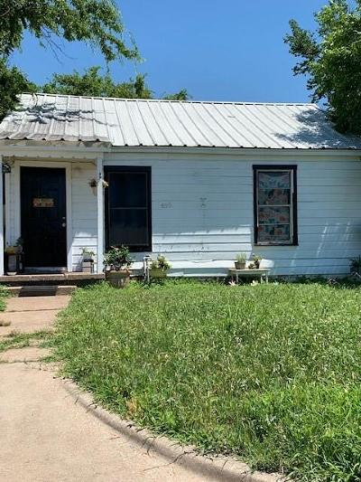 Palo Pinto County Single Family Home For Sale: 406 11th Street